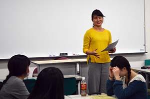 本学学生後田さんの学習支援ボランティア体験談