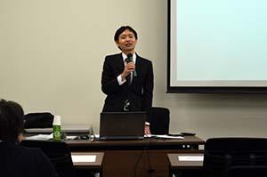 講演者 日本高等教育評価機構 永井良政氏