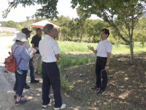 食農教育について話す田中教授